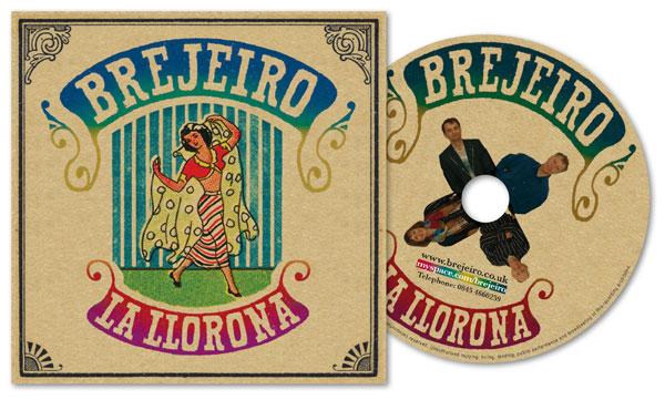 Brejeiro, 'La Llorona' CD Album Art