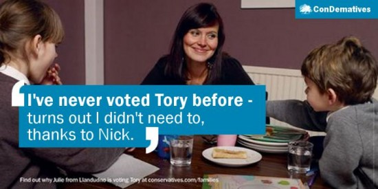 """I've never voted Tory before – turns out I didn't need to, thanks to Nick."""
