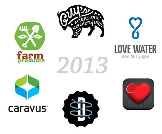 Logo design trends for 2013