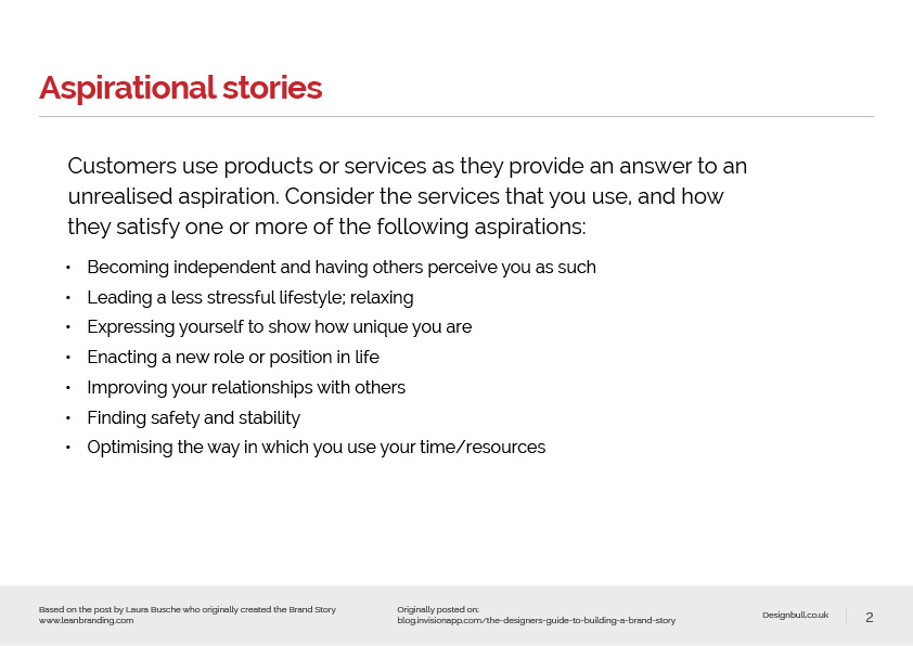 Brand Story presentation2
