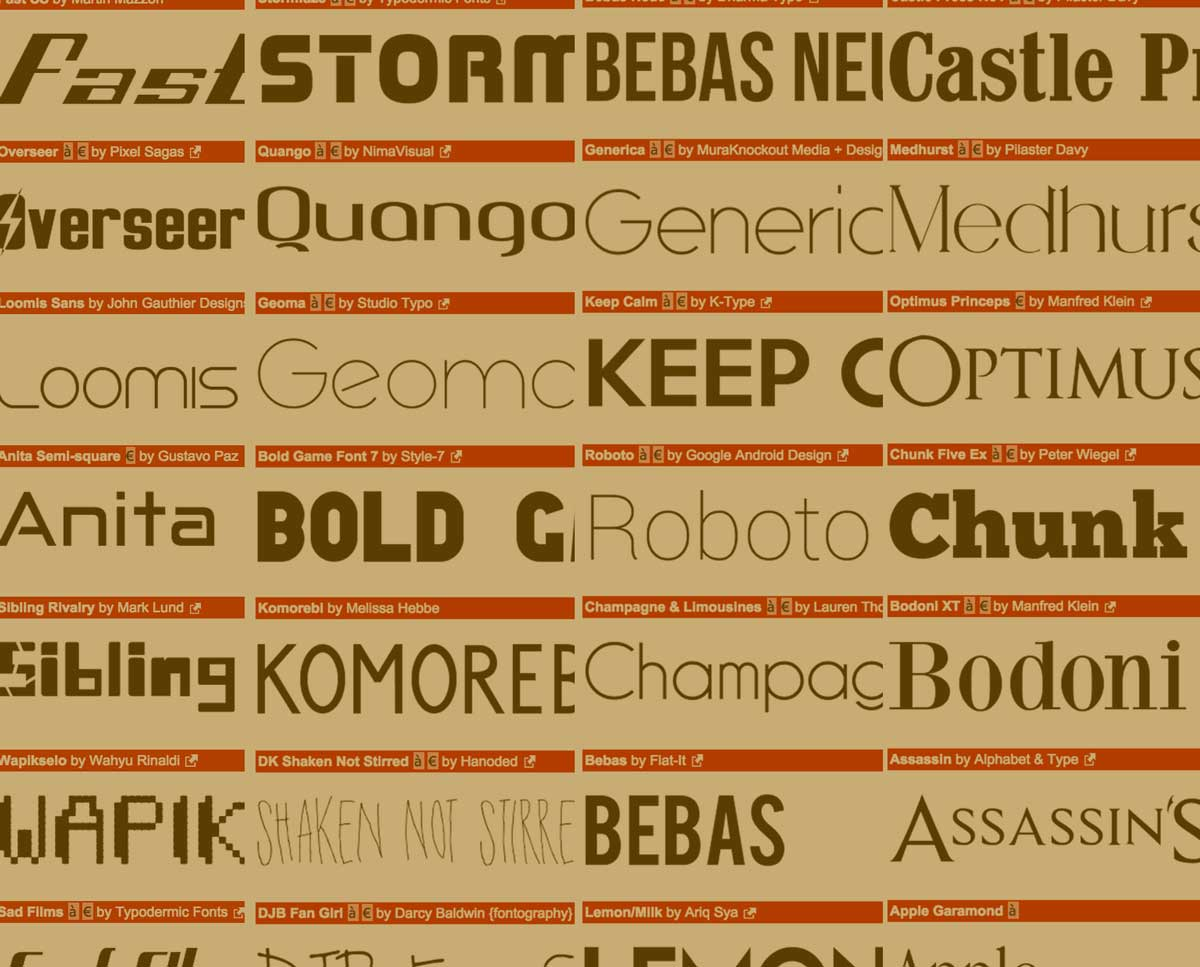 How to choose the right typeface for your website